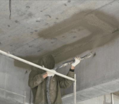 Огнезащита бетоном бура для бетона